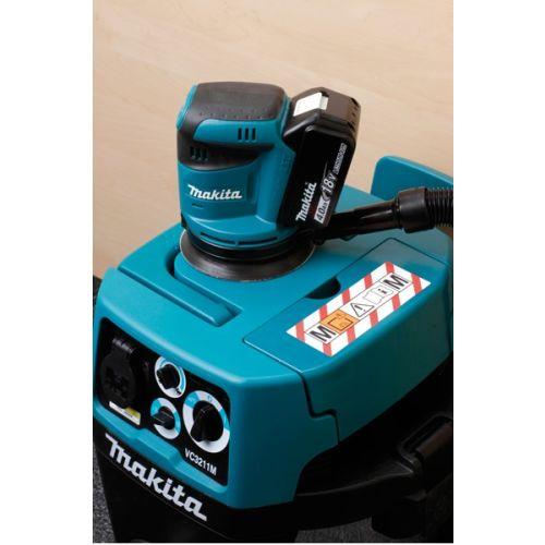 Ponceuse excentrique 18V 125 mm (machine seule) en boite carton - MAKITA - DBO180Z pas cher Secondaire 1 L