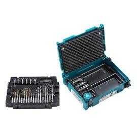 Kit d'outils vissage/perçage Makita Makpac SDS Plus 65 pièces B-69478 photo du produit