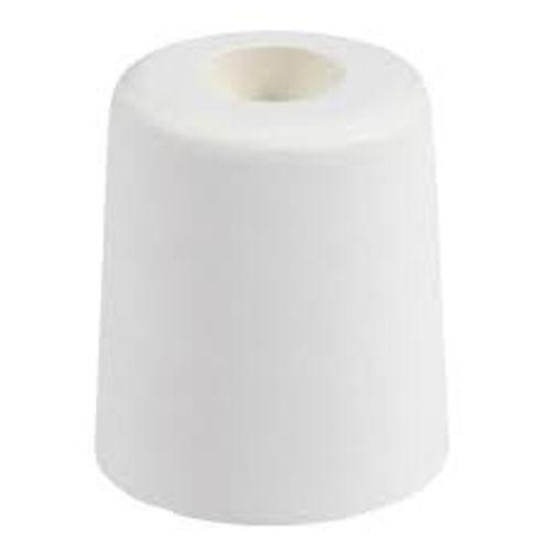 Butoirs de sol caoutchouc cylindrique blanc photo du produit