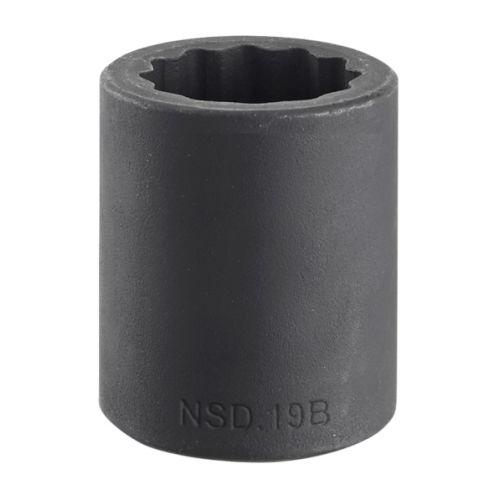 Douille impact 1/2'' 12 pans métriques 16,0 mm longueur 38 mm - FACOM - NSD.16B pas cher Principale L