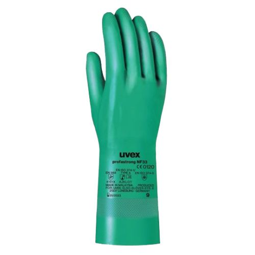 Gants de protection nitrile Uvex profastrong NF33 photo du produit