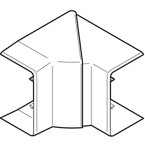 Angle intérieur CLIDI 90X55mm - REHAU - 6132953 pas cher Principale L