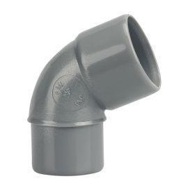 Coude PVC Wavin 67° 30 pas cher