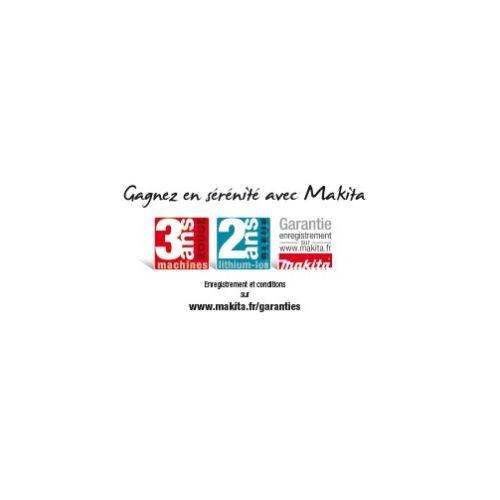 Meuleuse 18V à variateur 125 mm (2x5AH) en coffret MAKPAC - MAKITA - DGA517RTJ pas cher Secondaire 4 L