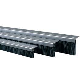 Bas de porte en aluminium avec brosse à 90° IBS pas cher