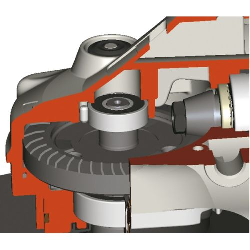 Meuleuse d'angle 230 mm 2400W boite carton - MAKITA - GA9030X01 pas cher Secondaire 3 L