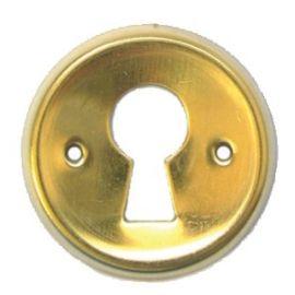 Entrée de clé laiton ronde photo du produit