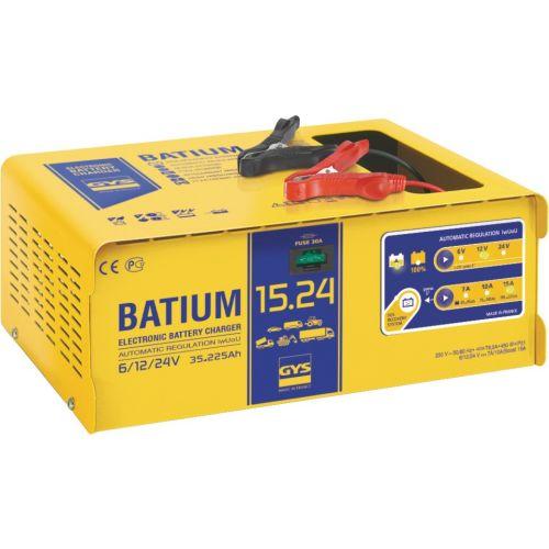 Chargeur BATIUM 15.24 6 /12 / 24 V 225 Ah - GYS - 024526 pas cher