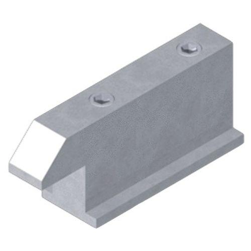 Gâche pour coulissant aluminium photo du produit Secondaire 1 L