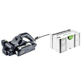 Rabot Festool HL 850 EB-Plus 850 W + coffret SYSTAINER T-LOC SYS 3 pas cher Principale M
