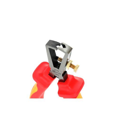 Pince à dénuder réglable isolée 1000 V 160 mm - HANGER - 231026 pas cher Secondaire 1 L
