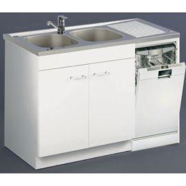 Meuble sous évier lave-vaisselle Aquarine pas cher