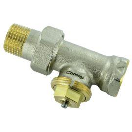 Corps thermostatique de radiateur droit COMAP photo du produit
