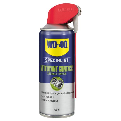 Nettoyant contact séchage rapide aérosol 400 ml - WD-40 SPECIALIST - 33368 pas cher