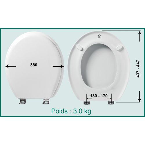 Abattant WC OLFA Tradition photo du produit Secondaire 3 L