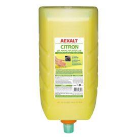 Gel mains microbilles Aexalt citron pas cher