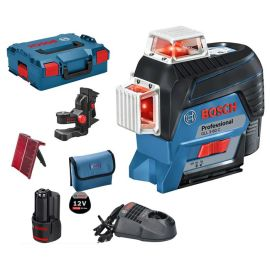 Pack laser lignes Bosch GLL 3-80 C Professional + batterie GBA 12V 2.0Ah + chargeur GAL 1230 CV pas cher Principale M