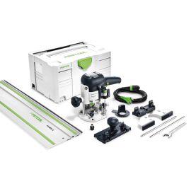Défonceuse OF 1010 EBQ-Plus + rail de guidage FS 800/2 + Systainer T-LOC SYS 3 photo du produit
