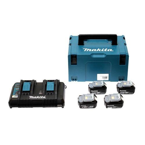 Perfo-burineur SDS+ 36V 18V double (4x5AH) en coffret MAKPAC - MAKITA - DHR264PT4J pas cher Secondaire 3 L