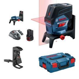 Laser points et lignes Bosch GCL 2-50 C 12 V + batterie GBA 2.0 Ah + chargeur + L-BOXX pas cher Principale M