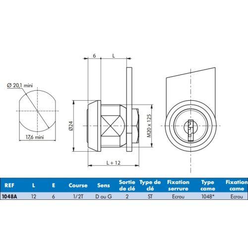 Batteuse type 1048A 1/2 tour - RONIS - 1048A pas cher Secondaire 1 L