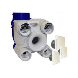 Kit VMC à simple flux autoréglable Unelvent DECO 2 K pas cher