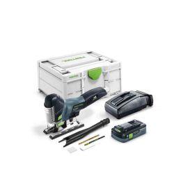 Scie sauteuse sans-fil Festool Carvex PSC 420 HPC 4,0 EBI Plus 18 V + batterie 4 Ah + chargeur photo du produit