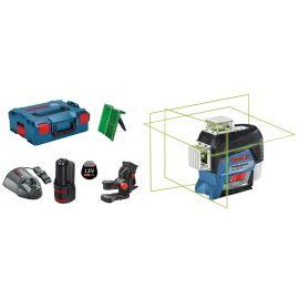 Laser lignes GLL 3-80 CG + batterie GBA 12V 2.0Ah + chargeur GAL 1230 CV + L-BOXX pas cher