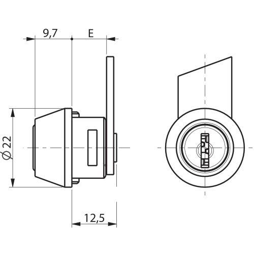 Batteuse type 4900-02 1/2 tour - RONIS - 16006 pas cher Secondaire 5 L