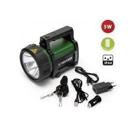 Projecteur rechargeable LED 5 W Velamp 350 lm IP44 pas cher
