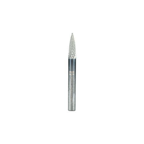 Fraise forme ogive pointue diamètre 12 x 25 mm longueur 65 mm - HANGER - 151412 pas cher