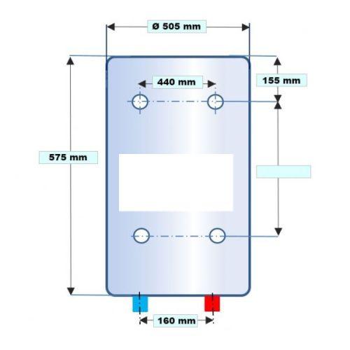 Chauffe-eau électrique vertical blindé photo du produit Secondaire 3 L