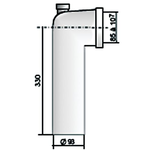Pipes coudées et accessoires REGIPLAST photo du produit Secondaire 6 L