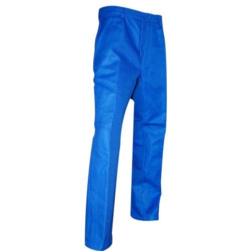 Pantalon 100% coton CLOU bleu bugatti taille 60 - LMA LEBEURRE - 615172 pas cher Principale L