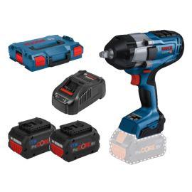 Boulonneuses sans-fil Bosch GDS18V-1000 Professional 18 V + 2 batteries 5,5 Ah+ chargeur + L-Boxx pas cher Principale M
