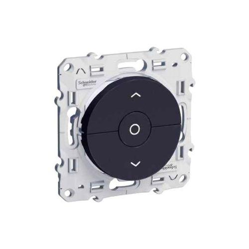 Interrupteur pour volets roulants ODACE anthracite 3 boutons montée/descente/stop volet - SCHNEIDER ELECTRIC - S546208 pas cher Principale L
