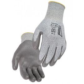 Gant anti-coupure niveau 5 HDPE PU gris pas cher Principale M