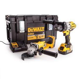 Pack 18V 2 outils DCK278P2 (DCD996 / DCG412) 2x5Ah T-Stak photo du produit