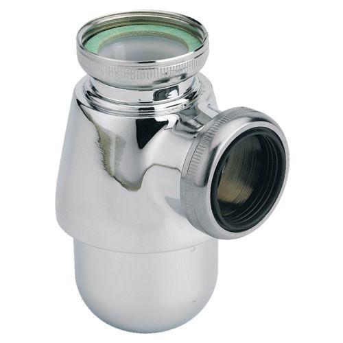 Siphon bidet chrome sortie 32 mm - VALENTIN - 14130000000 pas cher Principale L