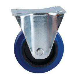 Roulettes AVL caoutchouc bleu photo du produit
