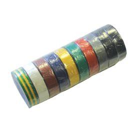 Lot de 10 rubans adhésifs électricien Eurocel Isotape photo du produit