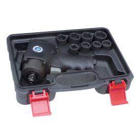 Coffret de clé à chocs pneumatique 1/2'' + douilles courtes à chocs 1/2'' Général Pneumatic GP1313BC photo du produit