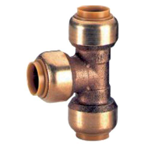 Té réduit tectite Femelle Femelle Femelle pour tube cuivre Ø16-12-16 - COMAP - T130161216 pas cher Principale L