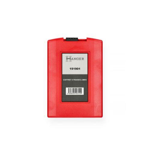 Coffret de 5 fraises carbure 10 mm - HANGER - 151901 pas cher Secondaire 2 L