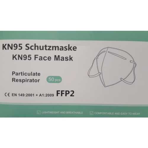 Masque respiratoire jetable FFP2 CE EN149 KN95 photo du produit Secondaire 2 L