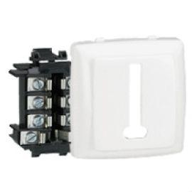 Prise téléphone 8 contacts Appareillage saillie composable - blanc LEGRAND photo du produit Principale M