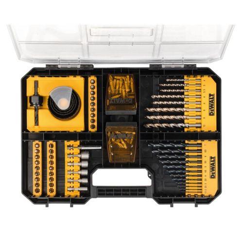 Coffret de 100 accessoires de vissage et perçage T-STAK - DEWALT - DT71569 pas cher Secondaire 4 L