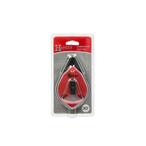 Cordeau à tracer boîtier en plastique 30 m - HANGER - 100071 pas cher Secondaire 3 L
