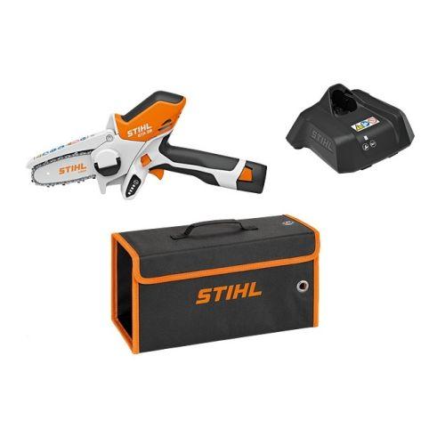 Scie de jardin sans fil Stihl GTA 26 11 V + batterie AS 2 + chargeur AL 1 photo du produit