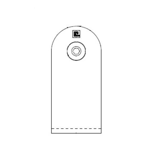 Poignée tubulaire inox sur mesure - Inox 304 photo du produit Secondaire 5 L